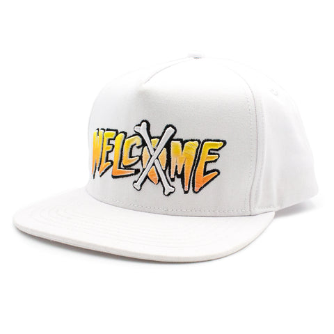 Welcome Snapback / White