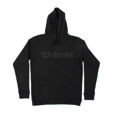 Welcome Hoodie (Applique Patch) / Black