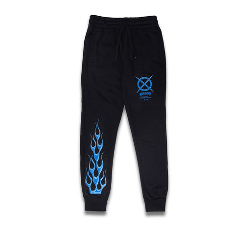 Blue Flame Sweats