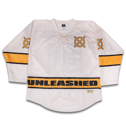 Cream Hockey Jersey