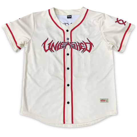 Unleashed 2020 Off White Baseball Jersey