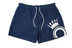 Blue Printed Logo Short