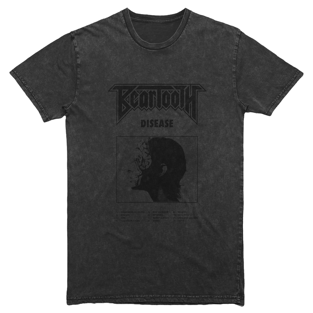 Beartooth - Washed Cover Art T-Shirt (Gray)