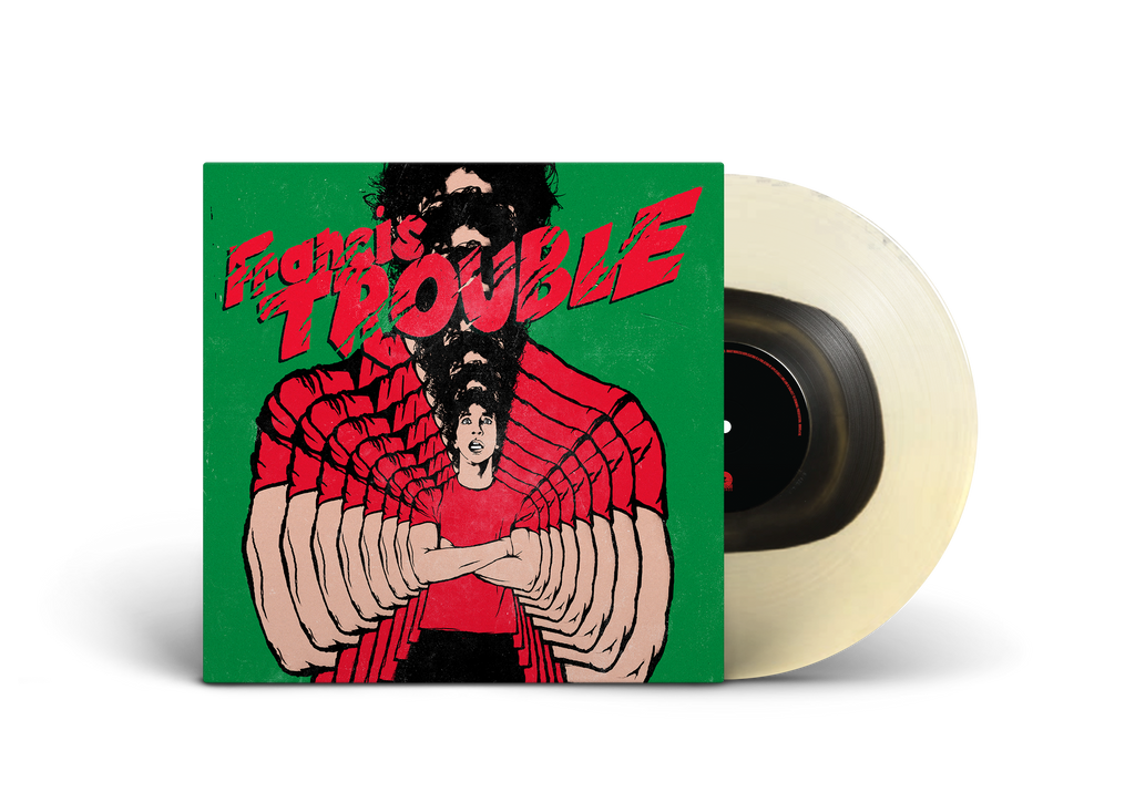 Albert Hammond Jr - Francis Trouble 12 Inch Milky Clear with Black Vinyl