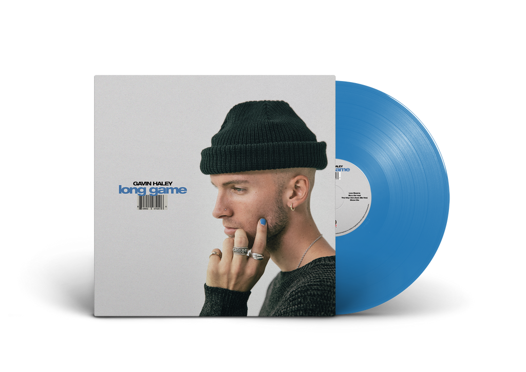 Gavin Haley - Long Game 12 Inch Vinyl (Blue)