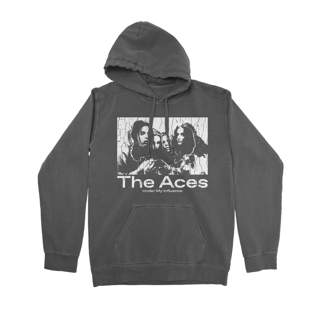 The Aces - 'Under My Influence' Hoodie (Charcoal)