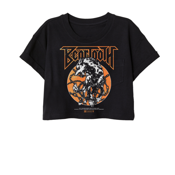 Beartooth - Wolf Crop Tee