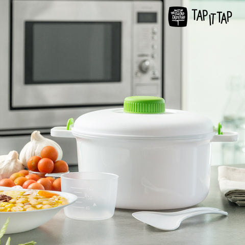 Tap It Tap Microwave Pressure Cooker