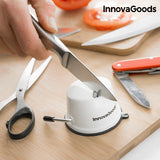 InnovaGoods Knife Sharpener with Suction Cup