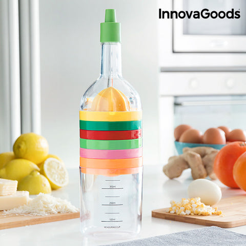 InnovaGoods 8 in 1 Cooking Utensil Bottle (8 Pieces)