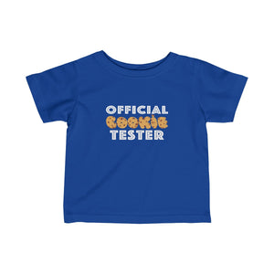 "Infant/Toddler ""Official Cookie Tester"" T-Shirt"