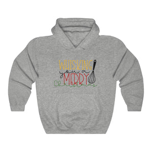"""Whisking You A Merry Christmas"" Hoodie"