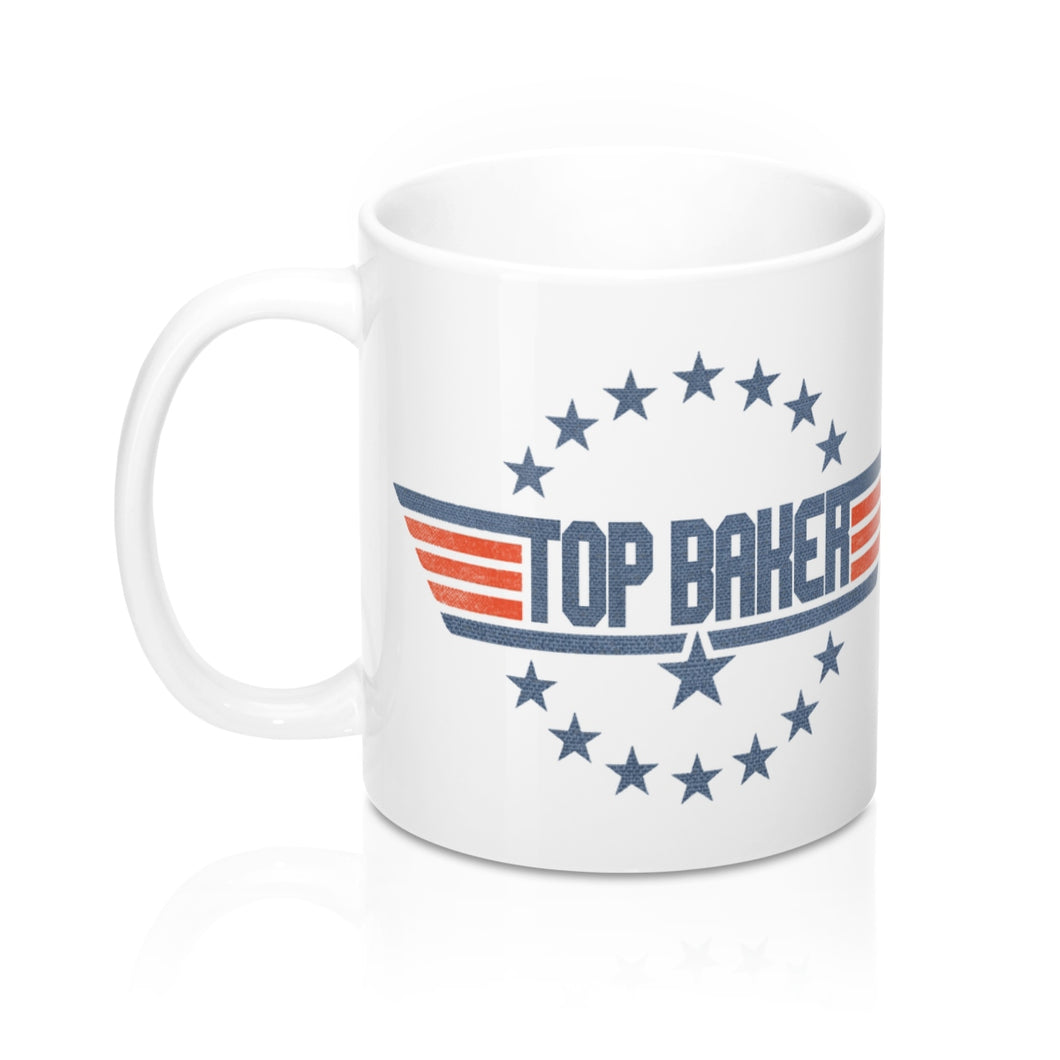 top baker 80's themed coffee mug on sale black friday!