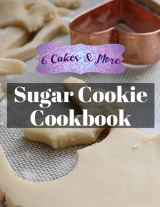 Cut out sugar cookie cookbook for holiday and birthday events on sale black friday!