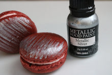 Silver Edible Metallic Food Paint