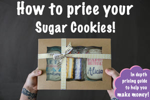 sugar cookie pricing guide