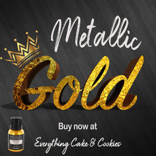 edible metallic gold on sale by rainbow dust