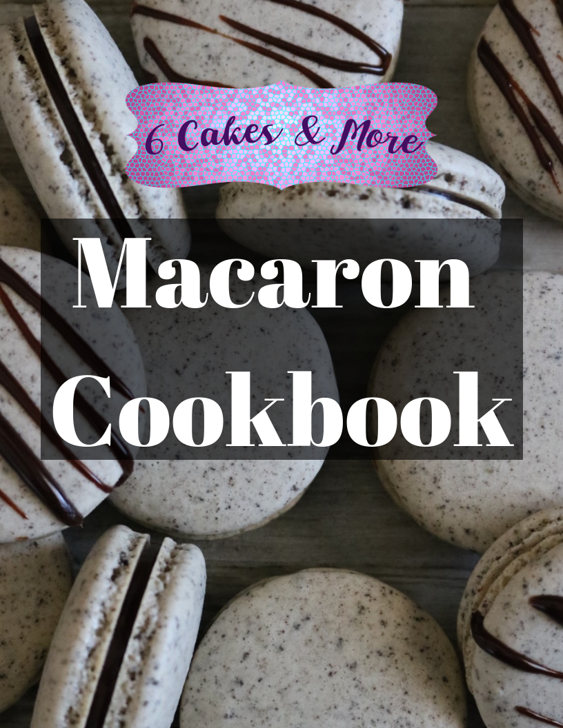macaron cookbook with tip and secrets to help you get the perfect macaron!  French and Italian method