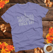macarons and coffee t-shirt for fall and winter black friday sale!