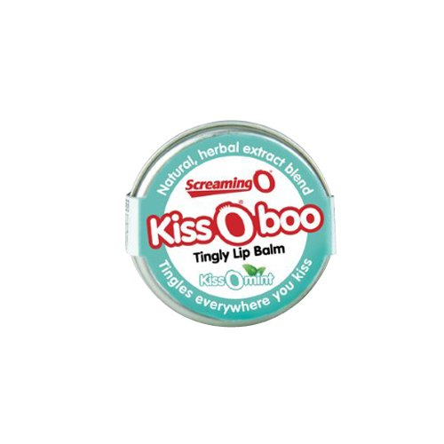 KissOboo kissOmint Tingly Lip Balm  Screaming O- Vixen Erotic Boutique