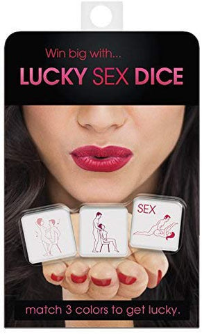 Lucky Sex Dice  Kheper Games Inc.- Vixen Erotic Boutique