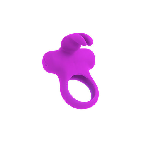 Frisky Bunny Vibrating Cock Ring