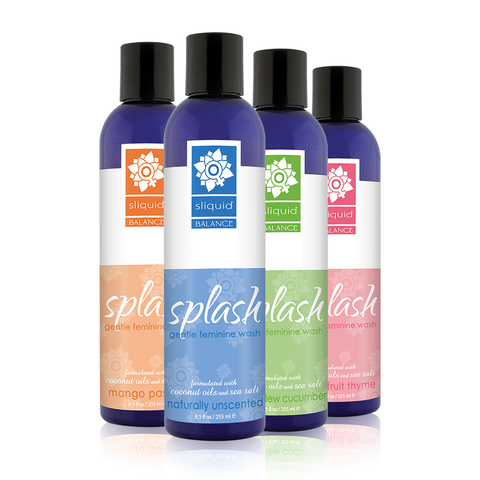 Splash-pH Balanced Gentle Feminine Wash  Sliquid- Vixen Erotic Boutique