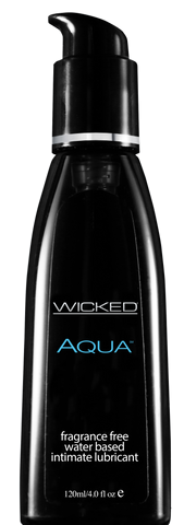 Wicked AQUA Fragrance Free Lubricant  Wicked- Vixen Erotic Boutique