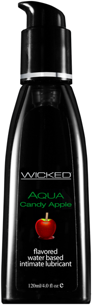 Wicked AQUA Candy Apple Lubricant  Wicked- Vixen Erotic Boutique