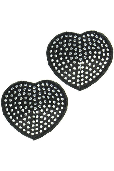 Rhinestone Heart Pasties  Coquette- Vixen Erotic Boutique