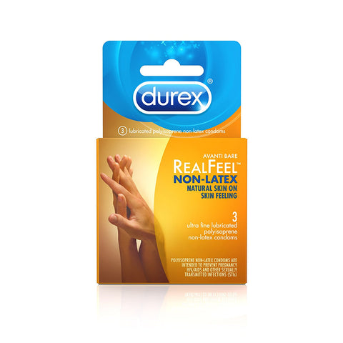 Avanti Bare Real Feel Non Latex Condoms  Durex- Vixen Erotic Boutique