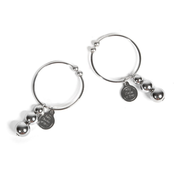 Pleasure and Pain Nipple Rings  Fifty Shades- Vixen Erotic Boutique