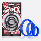RingO Pro 3pk Cock Rings  Screaming O- Vixen Erotic Boutique