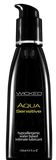 Wicked AQUA Sensitive Lubricant  Wicked- Vixen Erotic Boutique