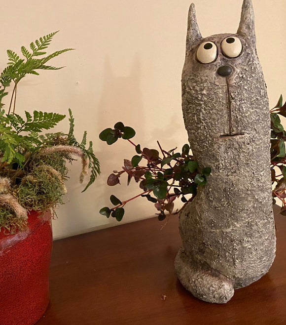 Blobhouse® 'Winston' the Cat Planter