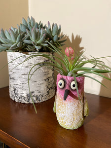 Blobhouse® 'Flit' Hummingbird Planter