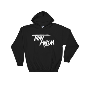 Unisex Hooded Logo Sweatshirt (Black)