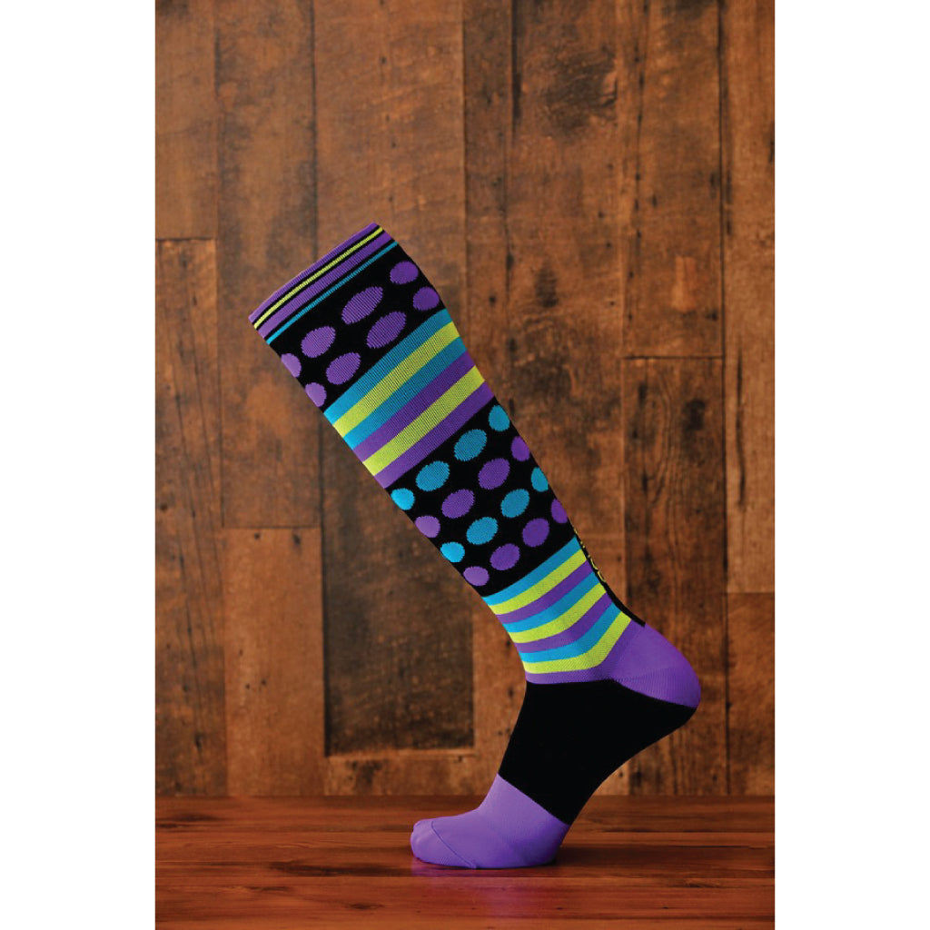 Rockin' Dot 15-22mmHg Performance Compression Sock