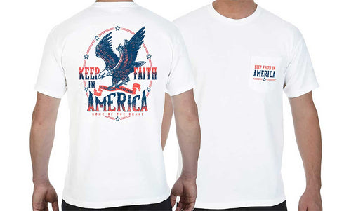KFA - Keep Faith In America T-Shirt - Kids Large