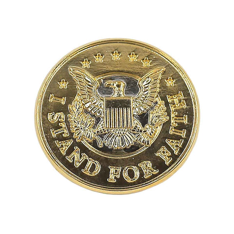 KFA - I Stand For Faith Lapel Pin
