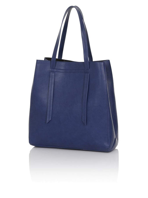 Navy Blue Oversized Shopper