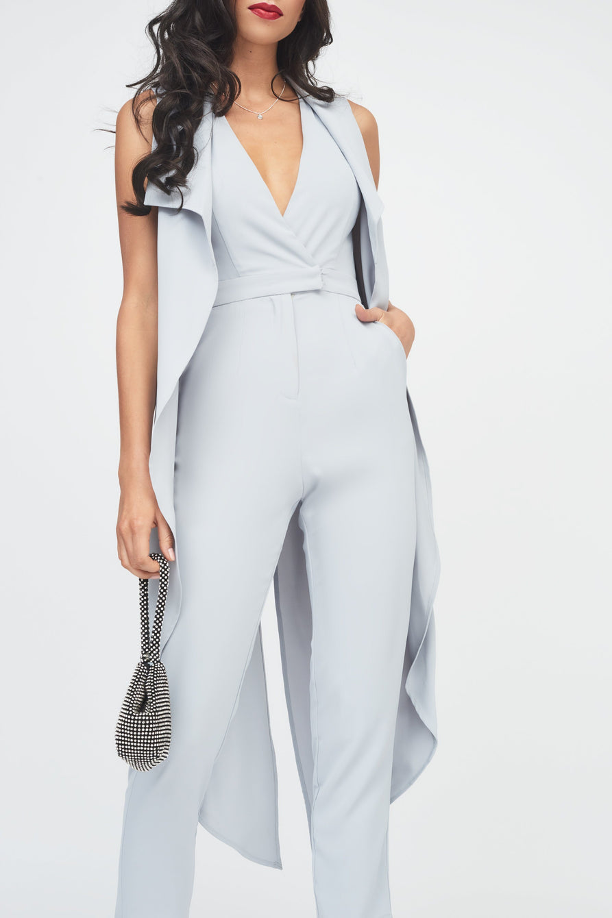 Waterfall Tailored Jumpsuit