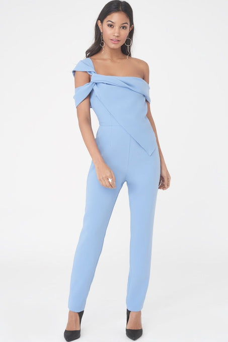 Twisted Asymmetric Jumpsuit