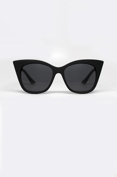 MODERN LOVE Black Cat Eye Sunglasses