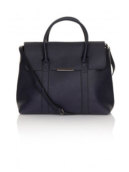 Navy Oversized Tote Bag