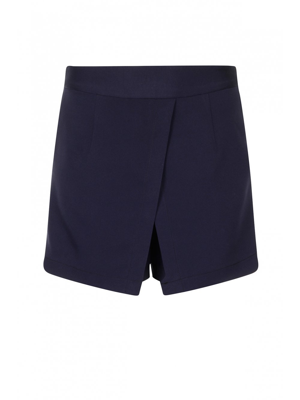 Navy Crossover Shorts