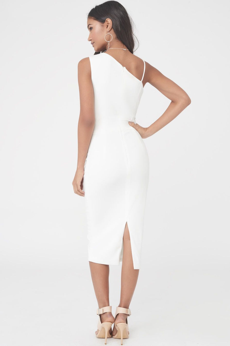 Asymmetric Cami Long Midi Dress