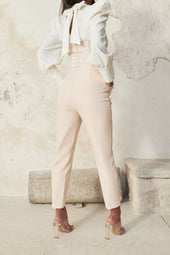 Corset Trouser in Champagne