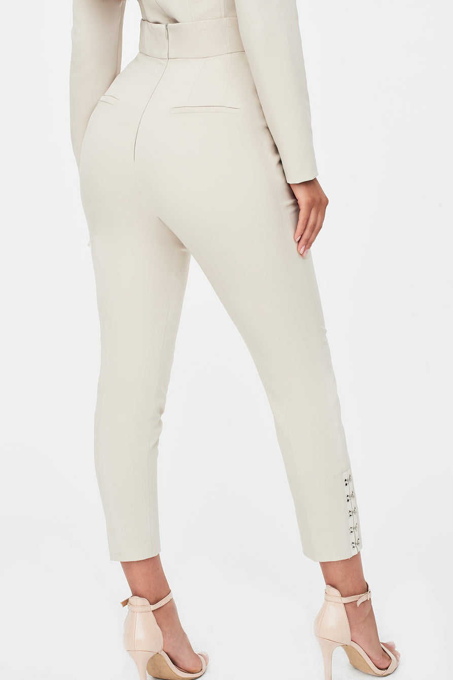 Corset Trouser in Clay
