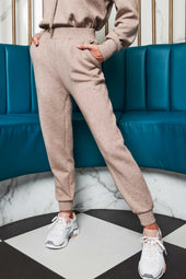 Patricia Bright Cuffed Relaxed Jogger in Mink